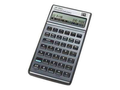 HP 17BII+ Financial Calculator, F2234A#ABA