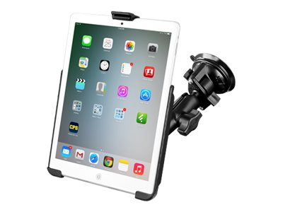 Ram Mounts Twist Lock Suction Cup Mount with EZ-ROLL'R for iPad Mini 1-3