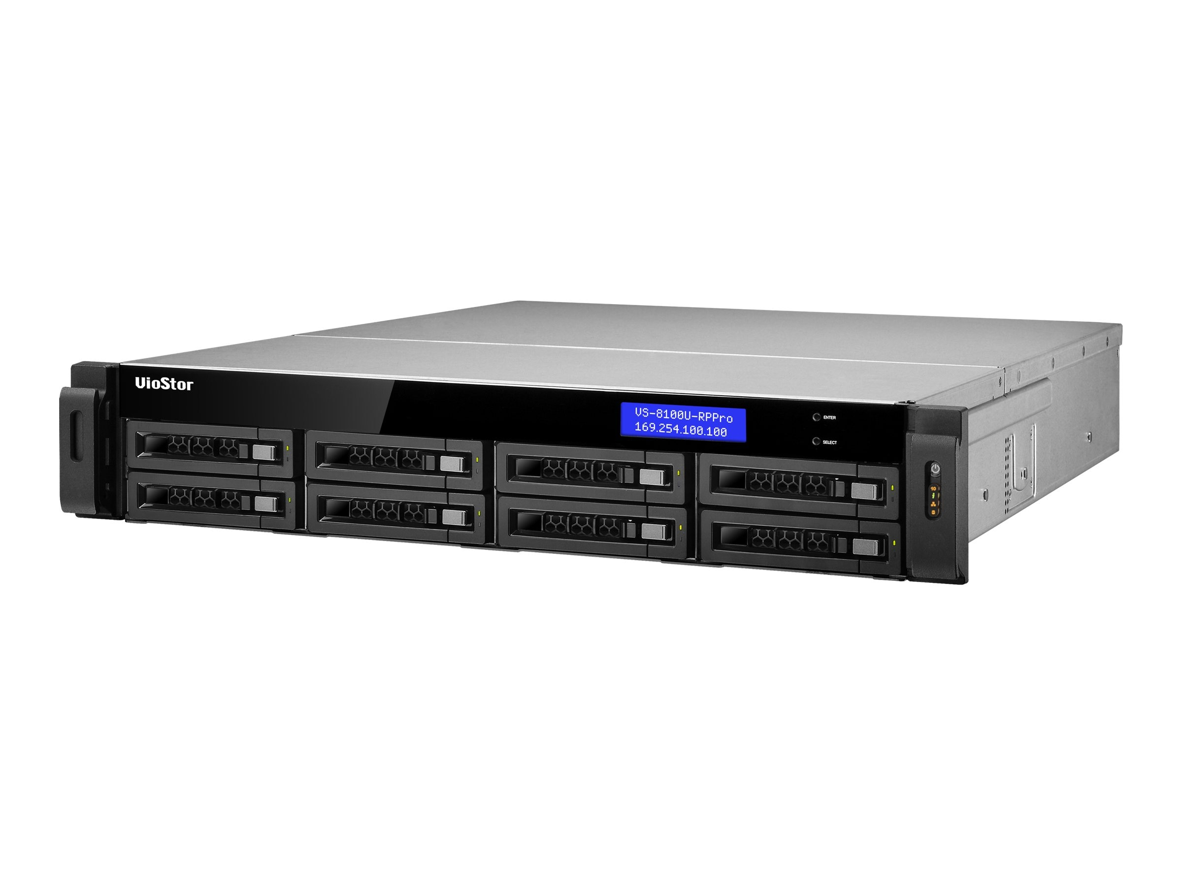 Qnap 8-Bay NVR 24-Channel Surveillance Appliance, VS-8124U-RP-PRO-US