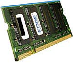 Edge 512MB PC2100 200-pin DDR SDRAM SODIMM for Select Dell, HP Models, PE223915, 10553611, Memory