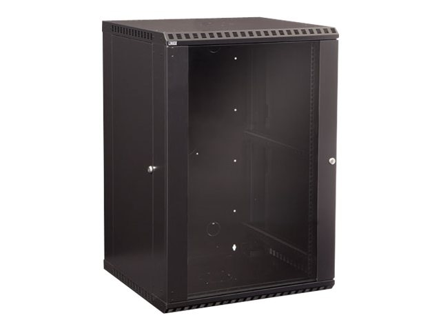 Kendall Howard Fixed Wallmount Cabinet, 18U