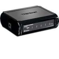 TRENDnet 5-Port Switch 10 100Mbps Fast Ethernet Switch, TE100-S5, 7396280, Network Switches
