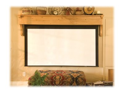 Draper Silhouette Series M AR Manual Projection Screen, Contrast Gray, 16:10, 109