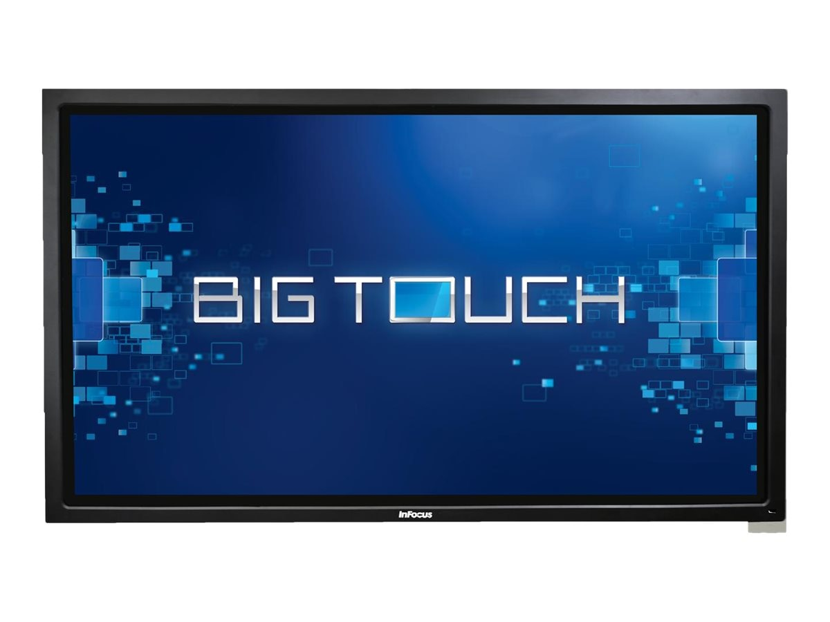 InFocus 85 BigTouch 4K LED-LCD Touchscreen Display, Black