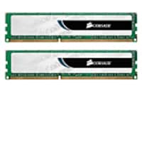 Corsair 4GB PC3-10600 240-pin DDR3 SDRAM UDIMM Kit, CMV4GX3M2A1333C9, 10970502, Memory