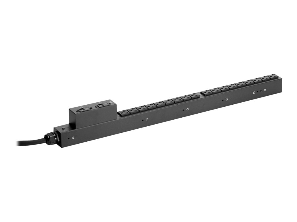 HPE Basic PDU 2.8kVA 120V L5-30P Input (18) NEMA 5-20R NA JP, H5M55A, 16264748, Power Distribution Units