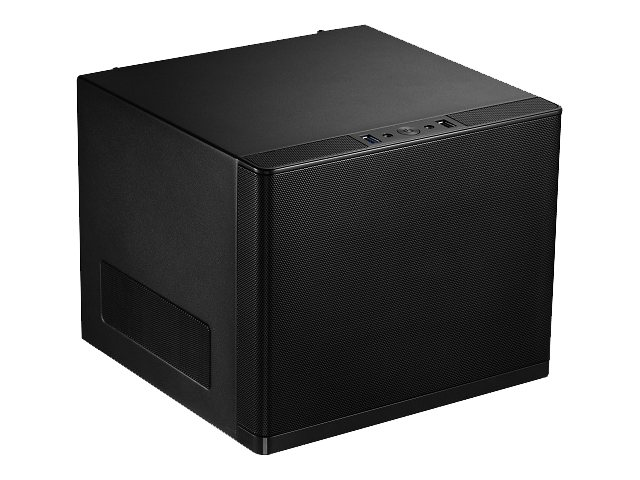 Rosewill Chassis, Legacy V6-S Cube Mini-ITX 4x3.5 Bays 2xSlots 1xFan, Black, LEGACY V6-B, 16896083, Cases - Systems/Servers