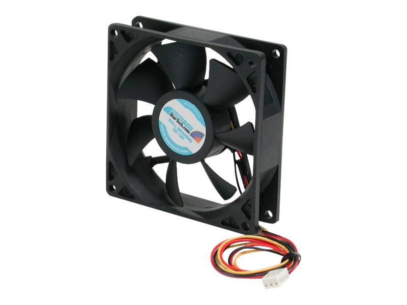 StarTech.com CPU Case Ball Bearing Cooling Fan Motor, 9x2.5cm with TX3 Connectors