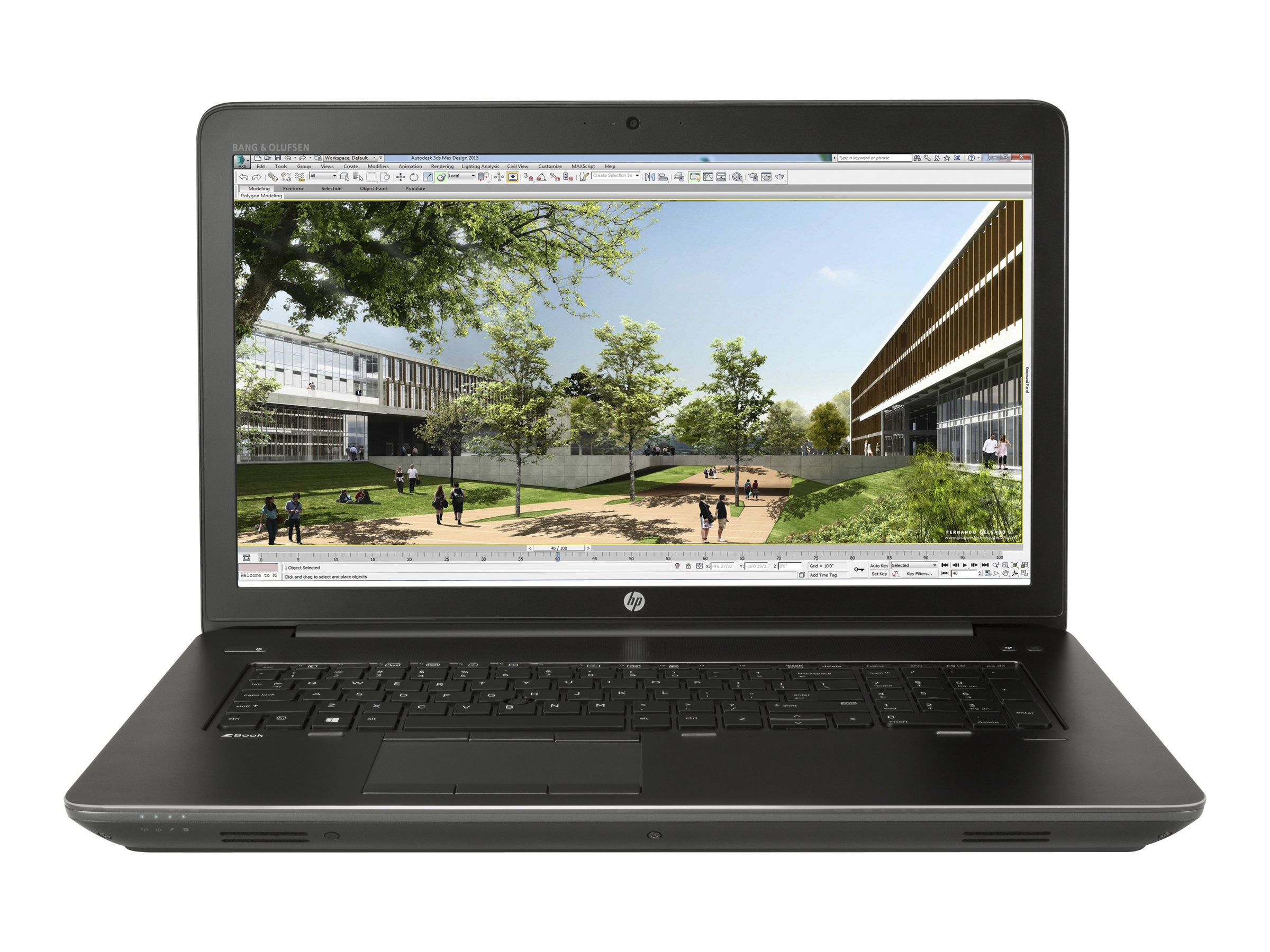 HP ZBook 17 G3 Core i7-6700HQ 2.6GHz 16GB 512GB PCIe ac GNIC BT FR WC 6C M3000M 17.3 FHD MT W10P64, X9V50UT#ABA