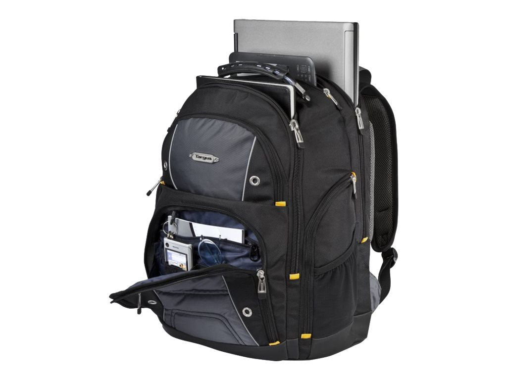 Targus Drifter II Backpack, Black with Colored Trim, TSB239US