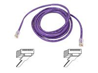 Belkin CAT5E UTP Patch Cable, Purple, 5ft