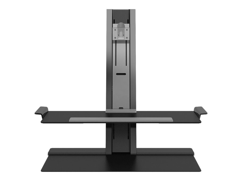 Humanscale QuickStand with Single Monitor Support, Heavy Mount, Black
