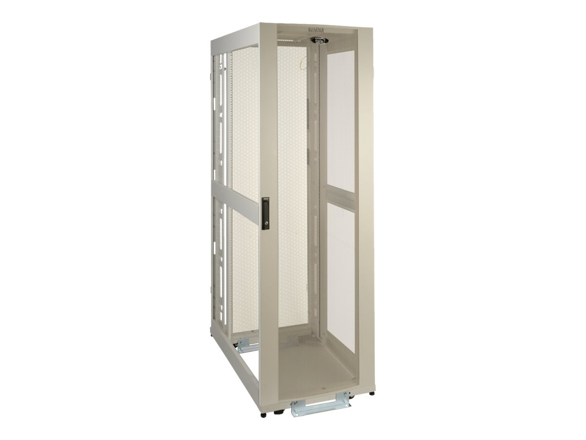 Tripp Lite 42U SmartRack Premium Enclosure w o Side Panels, White, SR42UWEXP, 15516211, Racks & Cabinets