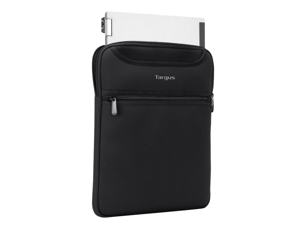 Targus Vertical Sleeve w  Hideaway Handles, 12, Black, TSS851, 17810085, Carrying Cases - Other