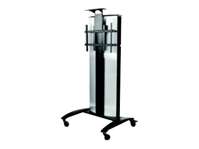 Peerless Flat Panel Video Conference Cart for 32-75 Displays, Black, SR575E, 24400391, Stands & Mounts - AV