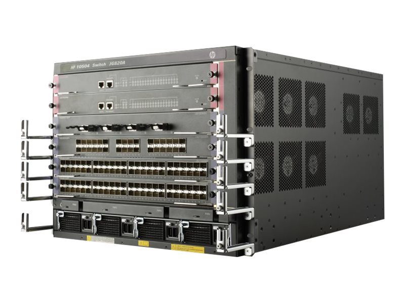 HPE 10504 TAA Switch Chassis
