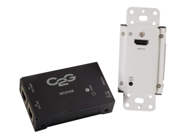 C2G Short Range HDMI over Cat5 Extender - Wall Plate to Box, 29374, 17785271, Video Extenders & Splitters