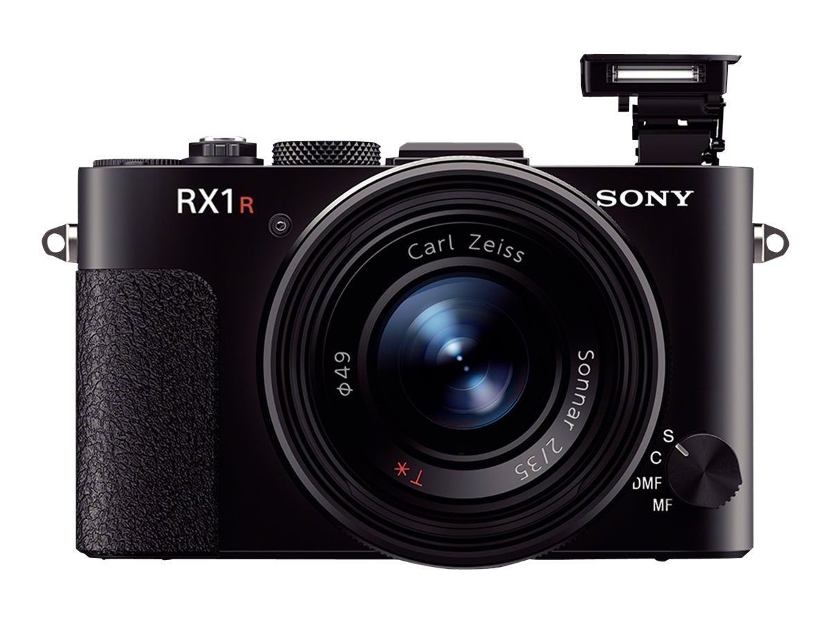 Sony Cyber-shot RX1R Digital Camera, 24.3MP, Black, DSCRX1R/B