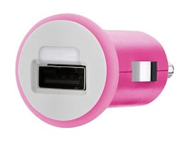 Belkin Mixit Up Car Charger 10 Watt 2.1 Amp, Pink, F8J002TTPNK, 15756169, Automobile/Airline Power Adapters