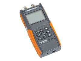Black Box Deluxe Optical Power Meter w Memory A, FOMM-200, 33001122, Network Test Equipment
