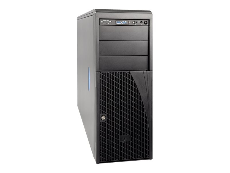 Intel Chassis, Server P4304XXMUXX 4U RM Max. 2P 4x3.5 Bays No PSU, P4304XXMUXX, 17925405, Cases - Systems/Servers