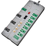 Tripp Lite ECO Green Home Theater Surge Suppressor (12) Outlets Coax