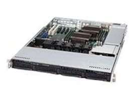 Supermicro SuperChassis 815TQ-563CB, 1U Chassis, 560W High-efficiency Power Supply, Black, CSE-815TQ-563CB, 11456855, Barebones Systems