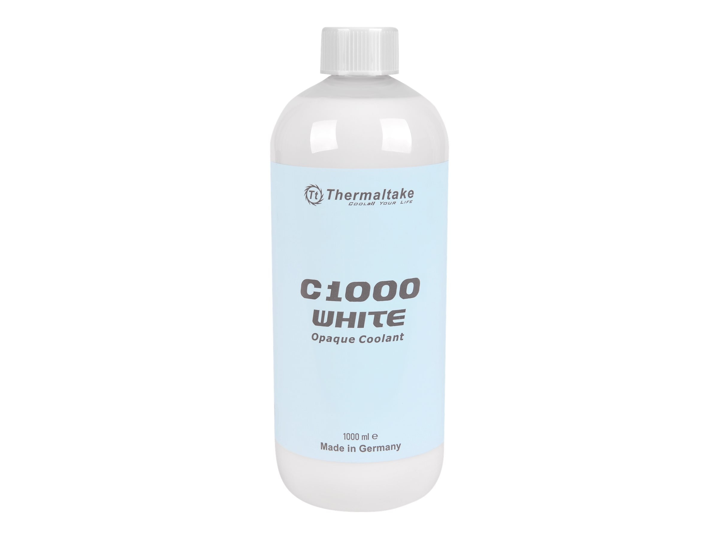Thermaltake C1000 Opaque Liquid Coolant, White, CL-W114-OS00WT-A, 31583384, Cooling Systems/Fans