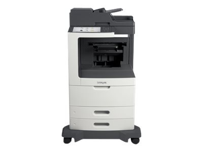 Lexmark MX812de Monochrome Laser Multifunction Printer, 24T7431, 14908440, MultiFunction - Laser (monochrome)