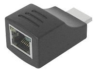 Siig HDMI Over CAT5e Mini-Receiver, CE-H20211-S1, 8934916, Video Extenders & Splitters