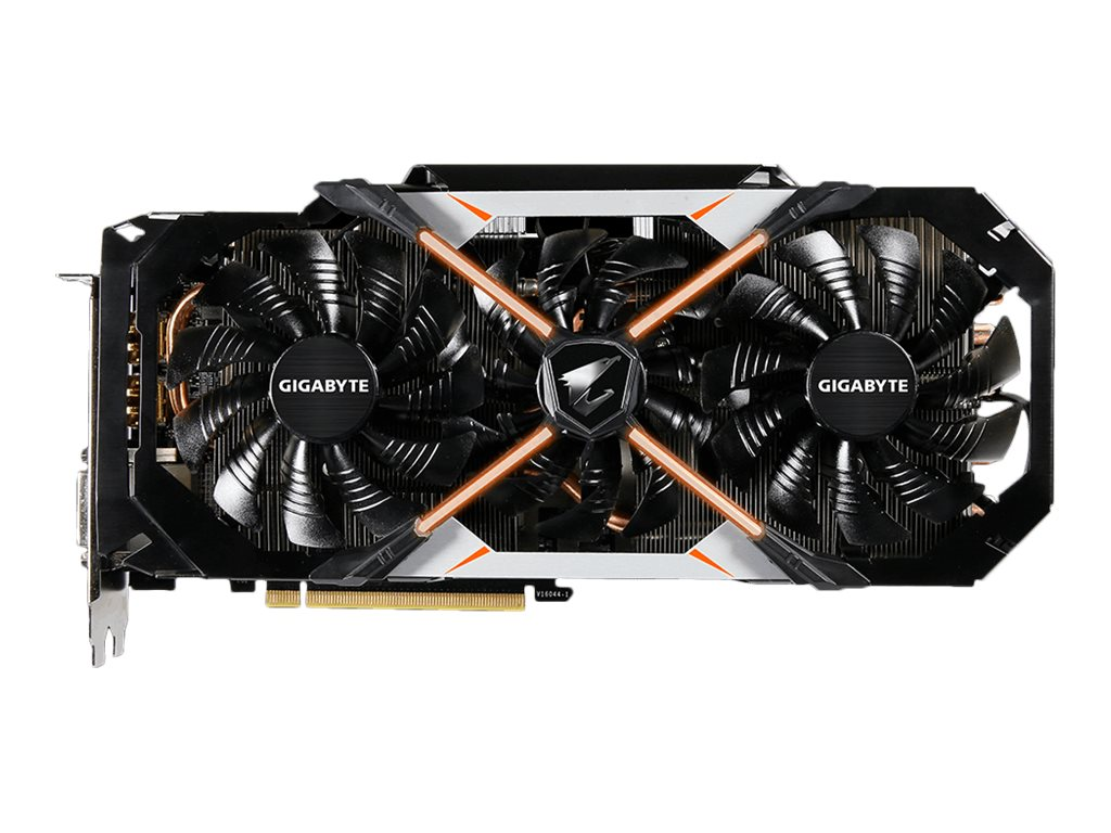 Gigabyte Tech GeForce GTX 1080 PCIe 3.0 x16 Graphics Card, 8GB GDDR5X