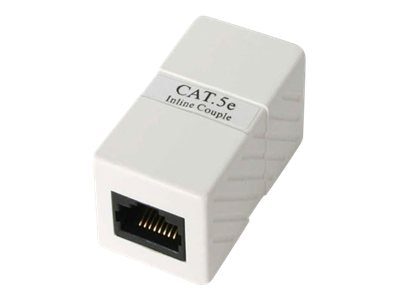 StarTech.com Cat5 Inline Coupler Adapter, CAT5COUPLER, 6344681, Adapters & Port Converters