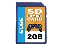 Edge 2GB SD Gaming Memory Card, PE222673, 10041181, Memory - Flash