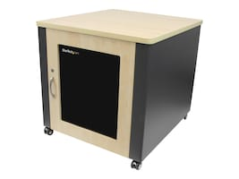 StarTech.com 12U Soundproof Server Rack Acoustic Cabinet with Casters, RKQMCAB12, 17429090, Racks & Cabinets