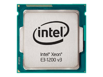 Intel Processor, Xeon QC E3-1220v3 3.1GHz 8MB 80W, Box, BX80646E31220V3