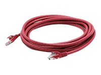 ACP-EP Cat6 Molded Snagless Patch Cable, Red, 10ft