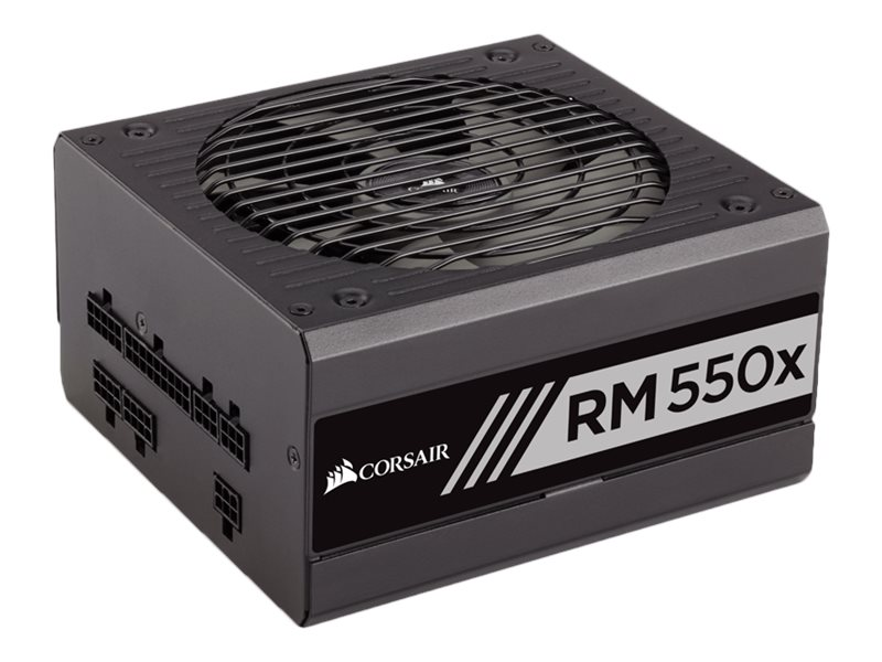 Corsair RM550x 550W 80 PLUS Gold Certified Fully Modular Power Supply Unit, CP-9020090-NA