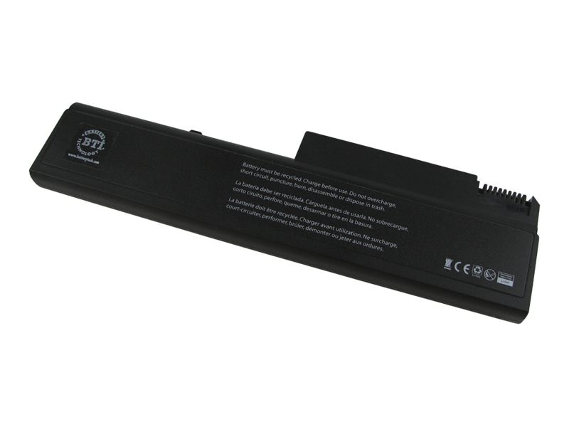 BTI 9-Cell 7800mAh Li-Ion Battery for HP Elitebook 8400 Probook 6400 6500 Series, AT908AA-BTI