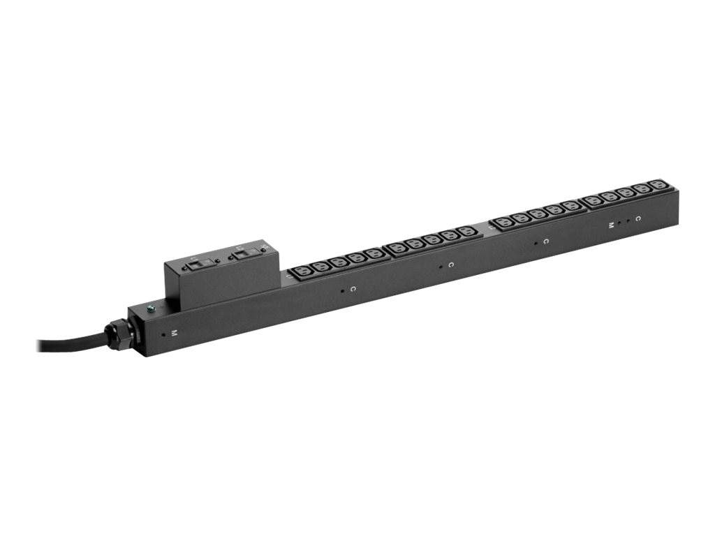 HPE Basic PDU 4.9kVA 208V L6-30P Input (20) C13 NA JP, H5M58A, 16444221, Power Distribution Units