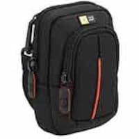 Case Logic Compact Camera Case with Storage, Black, DCB-302Black, 11872701, Carrying Cases - Camera/Camcorder
