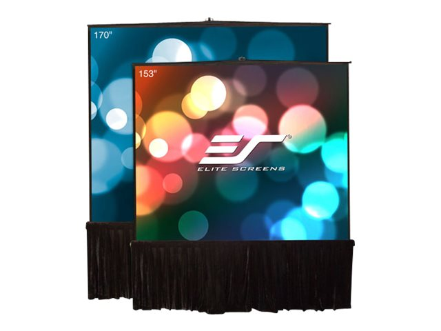 Elite Tripod Stage Series Projector Screen, MaxWhite, 170, T170UWS1-D, 21086384, Projector Screens