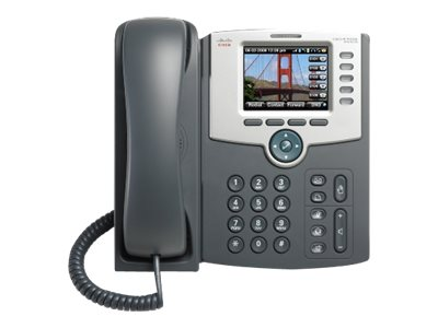 Cisco 5-Line IP Phone Color Display Phone, PoE, SPA525G2-RC