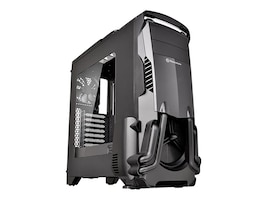 Thermaltake Chassis, Versa N24 Mid Tower ATX, Black, CA-1G1-00M1WN-00, 32646009, Cases - Systems/Servers