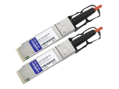 ACP-EP QSFP+ to QSFP+ Direct Attach Cable, MSA Compliant, 13m, QSFP-56G-AOC3M-AO
