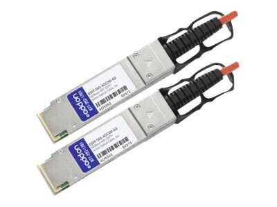 ACP-EP QSFP+ to QSFP+ Direct Attach Cable, MSA Compliant, 13m