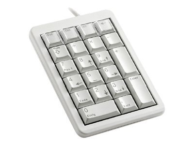 Cherry Grey Ultraslim USB Keypad Keybus 21 Position Key Layout, G84-4700LUCUS-0, 6242511, Keyboards & Keypads