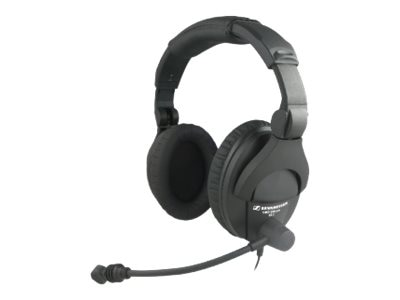 Sennheiser Full-Size Over-the-Ear Headset with NC Microphone, 502179, 16182582, Headsets (w/ microphone)