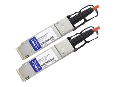 ACP-EP Mellanox Compatible 40GBase-AOC QSFP+ to QSFP+ Direct Attach Cable, 15m