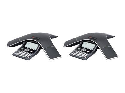 Polycom SoundStation IP 7000 Multi-Unit Kit, 2 Phones + I F Module, 2230-40500-001, 8548679, VoIP Phones