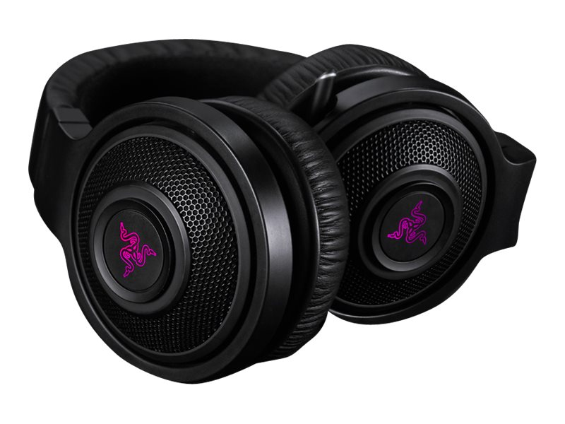 Razer KRAKEN 7.1 CHROMA SURROUND     ACCSSOUND USB GAMING HEADSET, RZ04-01250100-R3U1, 30855472, Computer Gaming Accessories
